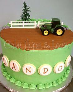 John Deer Cake  $53    www.facebook.com/cakehopeandlove