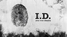 Idea for Identity Series