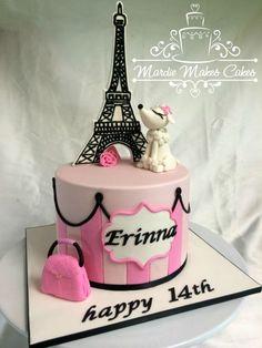 869 Great Parisian Cakes Images Fondant Cakes Paris Cakes