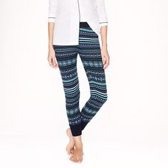 fair isle leggings. slightly ridiculous, but also awesome. (J. Crew, naturally)