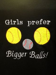 softball people.. get your mind out of the gutter:)  Hoodie PIF Adult Small  SOFTBALL and Baseball by JulsSewCrazy, $5.00