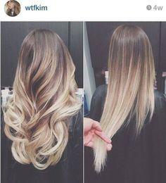 ombre hair-@Brenna Farquharson Farquharson Power?!