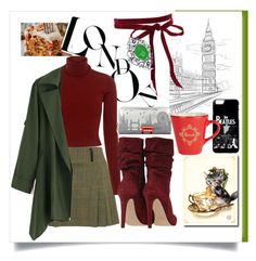 """""""Londres 2016"""" by marthecha ❤ liked on Polyvore featuring A.L.C., Accessorize, Harrods and Bling Jewelry"""