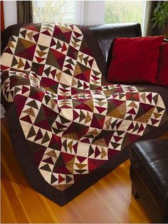 Urban Country Quilts by Martingale I love flying geese Fall Quilts, Scrappy Quilts, Mini Quilts, Quilting Projects, Quilting Designs, Quilting Ideas, Sewing Projects, Flying Geese Quilt, Country Quilts