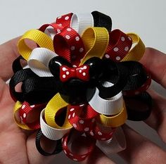 I Like Big Bows: Loopy hair bow tutorial