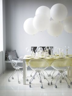 Balloons + Bubbles + Modern Clear Seating | SmartFurniture.com