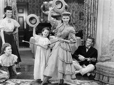Cita en San Louis, Margaret O'Brien, Judy Garland, 1944