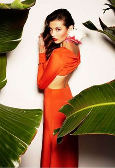 Model Paula Folch is the New Face of the Nacho Aguayo SS12 Campaign trendhunter.com