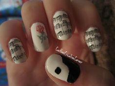 Fabulous Phantom of the Opera  nails!