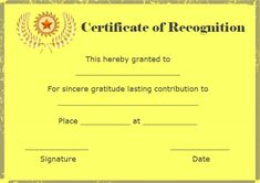 Certificate of recognition for top 10 students template certificate of recognition and appreciation template yelopaper Image collections
