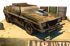 PAPERMAU: Mad Max - V8 Interceptor Papercraft Collection - b...
