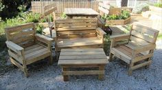 12 Amazing DIY Pallet Outdoor Furniture Ideas | Pallets Furniture Designs