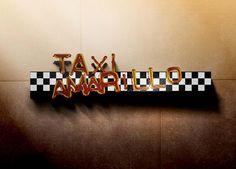 Taxi Amarillo  |  Logo Design
