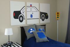 Child/'s Room Decor Police Bedroom First Responder Daddy/'s My Hero POLICE Fan Pull Policeman Police Officer Police Dad