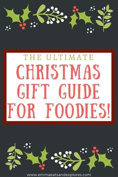 The Ultimate Christmas Gift Guide for Foodies 2017 - all budgets from stocking fillers to more expensive gifts. From beginner chefs to gourmet masterchefs!