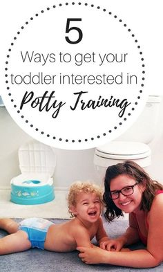 Charlie turned 2 and our pediatrician told us it was time...potty training time. AHHH! After a ton of research, I came up with this list of 5 ways to get your toddler interested in potty training. #ad #PottyPartners