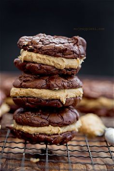 Brownie & Peanut Butter Cookies