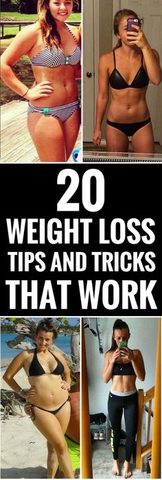20 weight loss tips and tricks that work