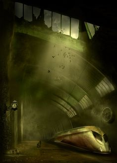 The Dark Tower Ω Train station in the Lud City. The Cradle Blaine is a pain and that is the truth