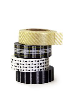 """This masking tape is made from the Japanese paper """"Washi"""" and is great for gift wrapping, scrapbooking, and many other crafts."""