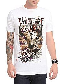COM   Bullet For My Valentine Temper Temper Slim Fit T Shirt