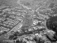 """Colonia del Valle, Iglesia del Purísimo Corazón de María en Gabriel Mancera y Torres Adalid, con la efigie conocida popularmente como """"Nuestra Señora del Tránsito"""""""
