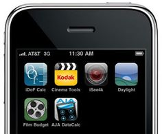 Iphone Apps for Film Production