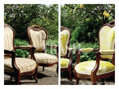 BERGÈRES SANTIAGO * Before & After * By Once Upon a Trash