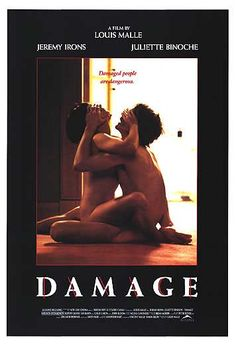 Damage (1992).  A father falls hard for his son's girlfriend/wife.  Disaster ensues. Very good film about lust & passion & sacrifice...Jeremy Irons, Juliette Binoche.