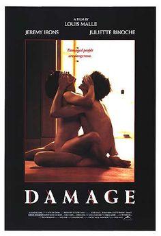 Damage (Louis Malle - Juliette Binochet, Jeremy Irons, Miranda Richardson)