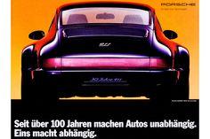 Porsche-Werbung der letzten Jahrzehnte: 911 Prozent Reklame - AUTO MOTOR UND…
