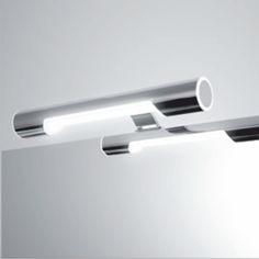 Kromattu AC-ledvalaisin Ariadna on näyttävä, IP44 luokiteltu valaisin kylpyhuoneeseen. Tämä ledvalaisin ei tarvitse erillistä muuntajaa, vaan se kytketään suoraan verkkovirtaan. Valaisimen leveys on 253mm, syvyys 123mm ja korkeus 32mm. Kiinnitys peilin taakse tai mukana tulevan lisäosan avulla kaapin päälle. Valaisimen teho on 5W, käyttöikä 45000h, valoteho 460lm ja valon väri 5700K.   #Focco  #foccobygrip #ariadna #gripshop #kylpyhuone #uutuus #kylpyhuonevalaisin #ledvalaisin