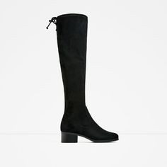 1e04ef965ffa Image 2 of FLAT OVER-THE-KNEE BOOTS from Zara Above Knee Boots