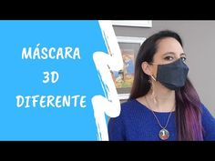 COMO FAZER MÁSCARA 3D - YouTube Diy Mask, Diy Face Mask, Face Masks, Reuse Old Clothes, Twin Day, Crochet Mask, Mask Making, Diy Clothing, Cute Faces