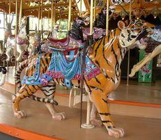 The Enchanted Carousel Horses