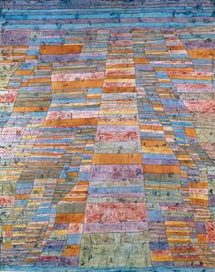Highways & Byways (1929)  Paul Klee