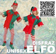 Disfraz unisex de Elfo o Duende de los bosques. Buena relación calidad/precio. Ideal para disfrazarse en pareja.