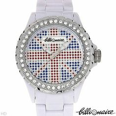 BILLIONAIRE Brand New Watch With Genuine Crystals 4227