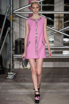 Moschino Cheap and Chic AW13 Dress
