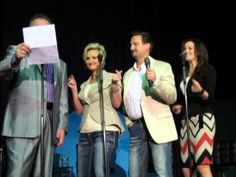 """Mark Lowry and The Martins """"Glow Worm"""" 3-10-2014 http://youtu.be/qTclQZoTw68"""