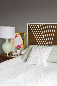 Diy Modern Headboard modern with mid century touches and reclaimed wood headboard