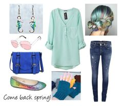 """""""Come back spring!"""" by purlsandpixels on Polyvore featuring ONLY"""