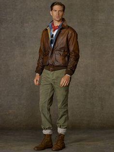 ralph lauren brown suede bomber jacket - Google Search