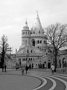 Fisherman's Bastion // Bastion des pêcheurs  #Budapest #Hongrie #Hungary