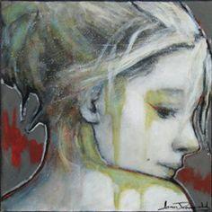 Élisa - Joan Dumouchel - Galerie d'art Iris, Baie-Saint-Paul - Charlevoix