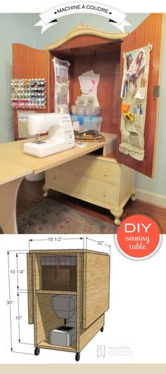 How to organize your sewing corner?