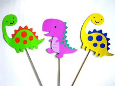 Hey, I found this really awesome Etsy listing at https://www.etsy.com/listing/164530112/dinosaur-party-centerpiece-sticks