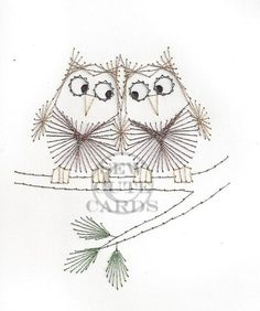 These cute little owls are sure to please as an anytime keepsake card or picture!  Available in a 4x6 card, and as a 5x7 or 8x10 picture.   http://sewcute.storenvy.com www.facebook.com/sewcutecards
