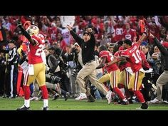 49ers Win. Everyone goes nuts.  http://dealsnfl.blogspot.com/