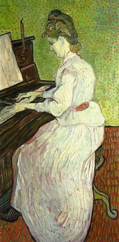 Van Gogh.  This must be the portrait of Marguerite Gachet